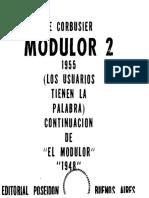 42. El Modulor II - Le Corbusier