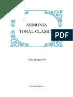 Armonía Tonal Clásica - Luis Robles
