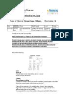 observation report form 4