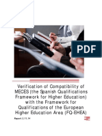Self Certification Report MECES VFinal3 031114