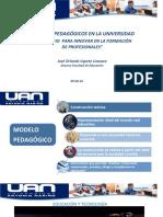 Modelos pedagógicos en la Universidad. José Ugarte