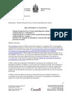 ONÉ - Décision Nº 10 - Requête Des Demandeurs Visant Une Interruption Du Processus d'Examen - Énergie Est Et Réseau Principal Est