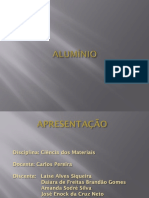 SEMINÁRIO SOBRE ALUMÍNIO - CIÊNCIA DOS MATERIAIS.pptx