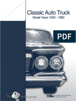 Classic Auto Truck Key Blank 1940 1980