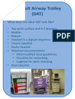 Difficult Airway Trolley DAS