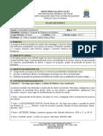 Plano de Disciplina - Métodos e Técnicas de Pesquisa Em História 2017.2