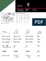 Luminox Chrono Manual