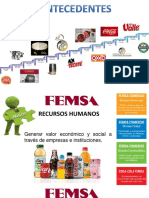 FEMSA Antecedentes