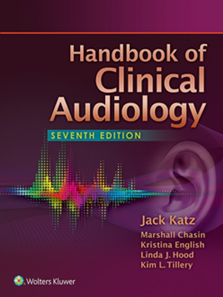 Handbook of clinical audiology 7thedition audiology otology fandeluxe Choice Image