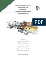 Combustor Turbina Gas