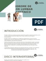 Sd Dolor Lumbar Discal