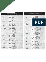Formulas de Fundaciones