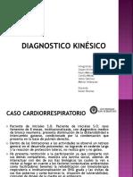 Diagnostico kinesico Objetivos