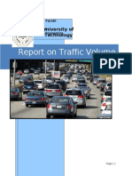 Report on Traffic Volume