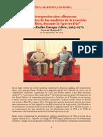 Manfredi - Las Divergencias Sino-Albanesas Desde La Optica de Los Analistas de La Reacción Imperialista, Durante La 'Guerra Fría'. El Caso de Radio Europa Libre, 1965-1972 (Sep 2014)