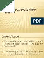 Arbol de La Minima Expansion