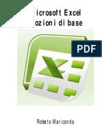 Microsoft Excel - Nozioni Di Base