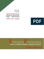 ENSAYO - ESTRATEGIAS PROYECTUALES