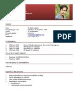 CV M. Bakti Saputro