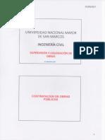 UNMSM Sup Obras - Definiciones y Modal Ejec. Contractual - Clase 01-09-2017