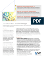 Sas Realtime Decision Manager 103200