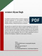 Architect Shyam Singh