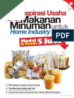 [www.pustaka78.com] 0067 - 38 Inspirasi Usaha Makanan Minuman untuk Home Industry Modal di Bawah 5 Juta KBO.pdf
