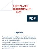Shops &Establishments Act