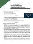 Model question paper of IB