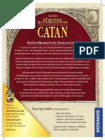 Fuersten Von Catan Handbuch