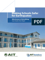 AIT - Making Schools Safer for Earthquakes, Effectiveness of Retrofitting Case Studies From Nepal