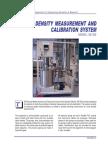 Density Measurement and Calibration Experiment System SE302