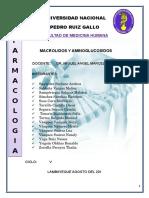 Aminoglucosidos y Macro