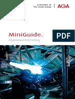 AGA Aluminum Welding Guide SE586 173598