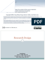 Topic 5 Research Design