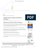 Instalar Drivers Xiaomi Android en Windows