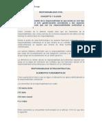 DR. MIGUEL GONZALEZ Ficha 12 Responsabilidad Civil Extra Contractual
