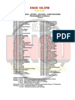 knod programming schedule  1