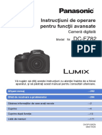 Panasonic Lumix DC-FZ82 DC-FZ80 Advanced Manual Romanian