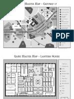 Dark Heresy - Gateway 17 GM Maps A4