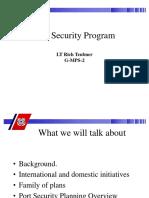 Port Security Program Presentation 2003