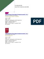 Les ouvrages à chercher.docx