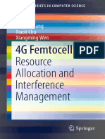 (SpringerBriefs in Computer Science) Haijun Zhang, Xiaoli Chu, Xiangming Wen (Auth.)-4G Femtocells_ Resource Allocation and Interference Management-Springer-Verlag New York (2013)
