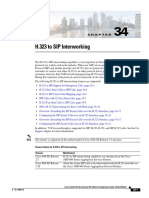 Sip h323 Interworking