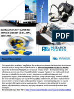 Global In-Flight Catering Service Market - Industry Size, Share, Analysis and Trading Growth to 2021