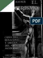 El Manierismo La Crisis Del Renacimiento