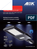 AOK IT Series LED Street Light Datasheet