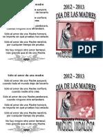 Invitacion Dia de Las Madres