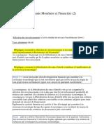 Économie Monétaire Et Financière(2)