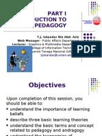 Part I - Pedagogy